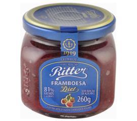 Geléia Ritter sabor framboesa diet 260g
