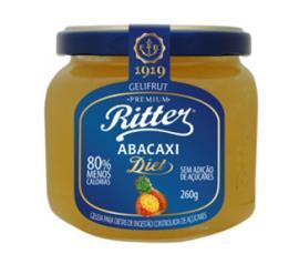 Geléia Ritter sabor abacaxi diet 260g