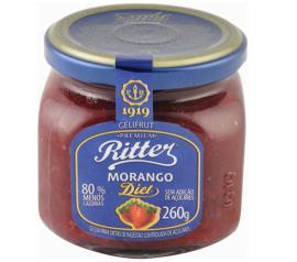 Geléia Ritter sabor morango diet 260g