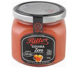 Geléia Ritter sabor goiaba zero 260g