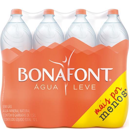 Água Mineral Bonafont Leve + Pague - 8x1.5 litros - Imagem em destaque