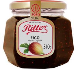 Geleia Ritter sabor figo premium 310g