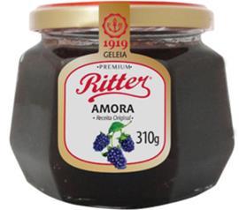 Geléia Ritter sabor amora premium 310g