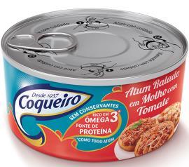 Atum Ralado ao Molho de Tomate Coqueiro 160g