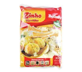 Pão de alho Zinho bolinha rechado de queijo 300g