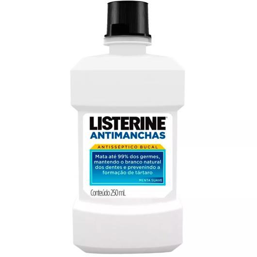 Anti-séptico Listerine whitening antimanchas 250ml - Imagem em destaque