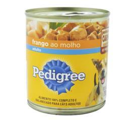 Alimento para cães Pedigree adultos sabor frango ao molho 290g
