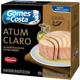 Atum claro em azeite de oliva Gomes da Costa 170g