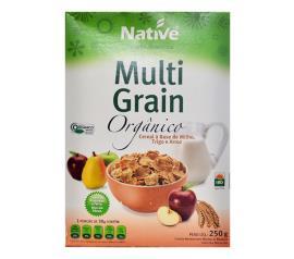 Cereal matinal Native orgânico multi grain 250g