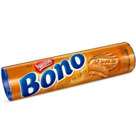 Biscoito Recheado Bono Doce de Leite 140g