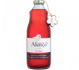 Suco Aliança da Terra Uva Rosé Integral 1l