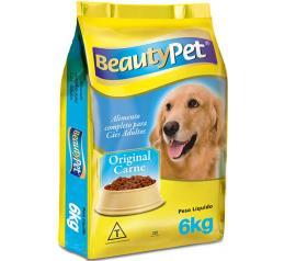 Ração para cães Beauty Pet original Sabor Carne 6KG