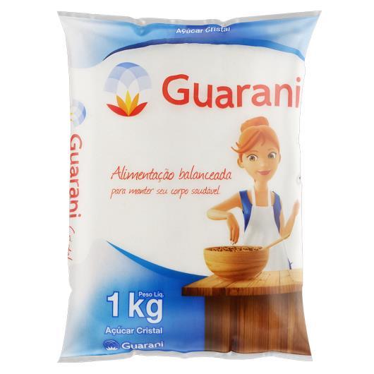 Açúcar cristal Guarani pacote 1kg - Imagem em destaque