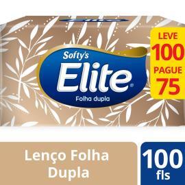 Lenço papel softy's Dualette com 75 unidades 25 g