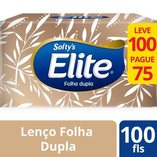 Lenço papel softy's Dualette com 75 unidades 25 g - Imagem em destaque