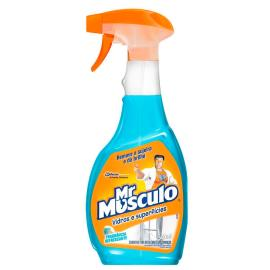 Limpa Mr. Músculo vidros  e superfícies 500ml
