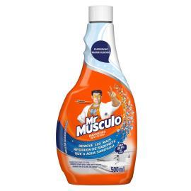 Limpador Mr. Músculo banheiro total refil 500ml