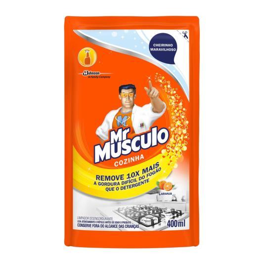 Desengordurante Mr Músculo Cozinha Refil Laranja 400ml - Imagem em destaque