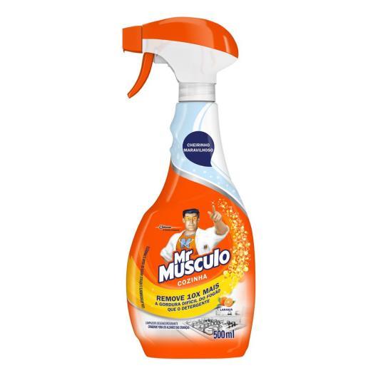 Limpador Mr.Musculo cozinha poder laranja 500ml - Imagem em destaque