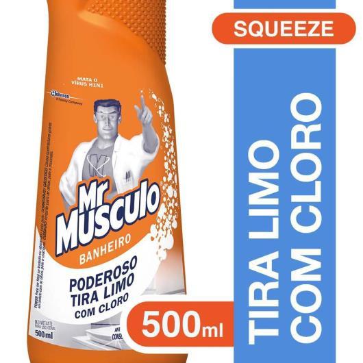 Desinfetante Mr.Musculo para banheiro 500ml - Imagem em destaque