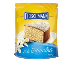 Mistura para bolo Fleischmann sabor baunilha 450g