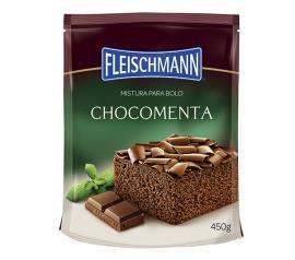 Mistura para bolo Fleischmann sabor  chocomenta 450g