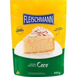 Mistura para bolo Fleischmann sabor coco 450g