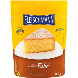 Mistura para bolo Fleischmann fubá 450g