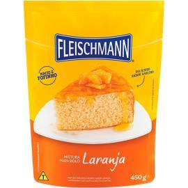 Mistura para bolo Fleischmann sabor laranja 450g