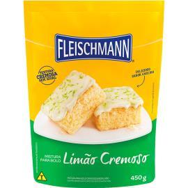 Mistura para bolo Fleischmann sabor limão cremoso 450g