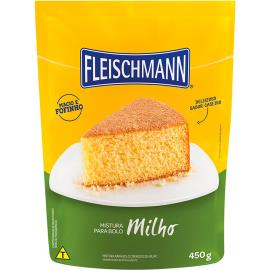 Mistura para bolo Fleischmann sabor milho 450g