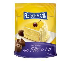 Mistura para bolo Fleischmann sabor pão de ló 350g
