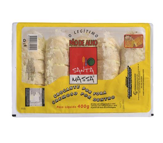 Pão de alho Santa Massa tradicional com queijo 400g - Imagem em destaque