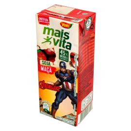 Bebida de Soja Yoki Mais Vita Maçã  Avengers 200ml