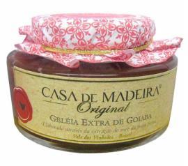Geleia Casa Madeira extra de goiaba 250g