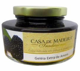 Geleia Casa Madeira extra com pedaços de amora 250g
