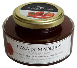 Geleia Casa de Madeira extra com pedaços de frutas vermelhas 250g