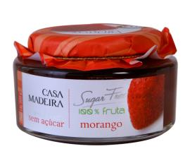 Geleia Casa Madeira extra sabor morango sem açúcar 220g