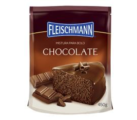 Mistura para bolo Fleischmann sabor chocolate 450g