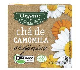 Chá Organic orgânico de camomila 10g