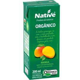 Suco orgânico sabor manga Native 200ml