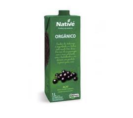 Suco orgânico Native sabor açaí com guaraná 1L