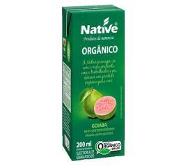 Suco orgânico Native sabor goiaba 200ml