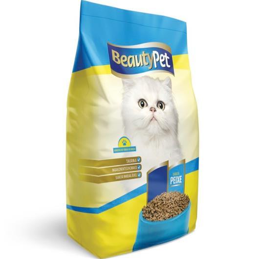 Alimento para gatos pet adulto sabor peixe 500g - Imagem em destaque