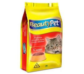 Alimento para gatos pet adulto sabor carne Beauty Pet 1kg