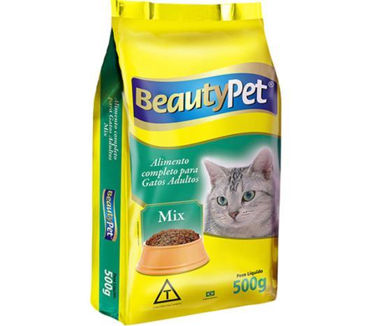 Alimento para gatos pet adulto mix Beauty 500g - Imagem em destaque