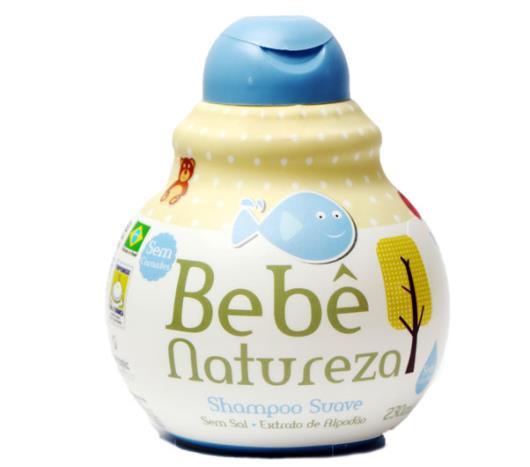 Shampoo Bebê Natureza suave 230 ml - Imagem em destaque