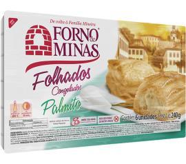 Folhado de palmito Forno Minas 240g