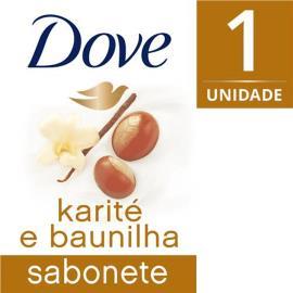 Sabonete Dove em barra delicious care karité 90g