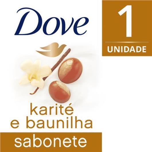 Sabonete Dove em barra delicious care karité 90g - Imagem em destaque